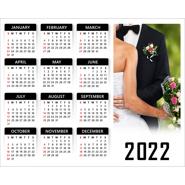 10 x 8 Poster Calendar (White)