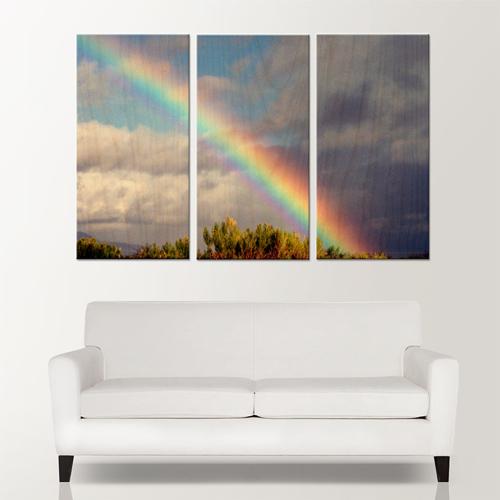 54x36 (3-18x36 Wood Panels)
