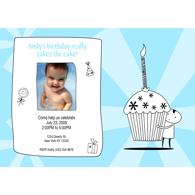 Petit gâteau A1 - Bleu (en anglais seulement)
