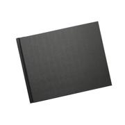 A4 - 29.7 cm x 21 cm (Unibind) Black Linen