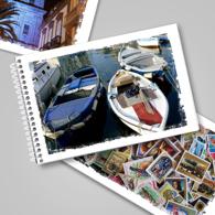 Flip Book - White Grunge Frame