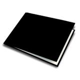A5 - 21 cm x 14.8 cm (Unibind) Basic Black