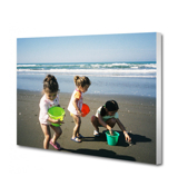 20 x 10 Canvas - 2 inch White Wrap