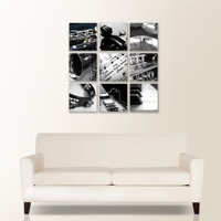 Nine Square Canvas Collection