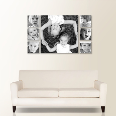 Impressions 7 Piece Canvas Wall Display