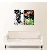 Showcase 4-piece canvas