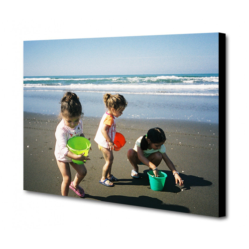 8 x 10 Canvas - 1.75 inch Black Wrap