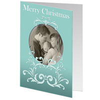 J3 Merry Christmas with Lace  - set of 25 cards