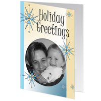 J3 Holiday Greetings Stars - set of 25 cards
