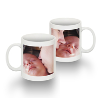 11 0z Mug with 1 image both sides