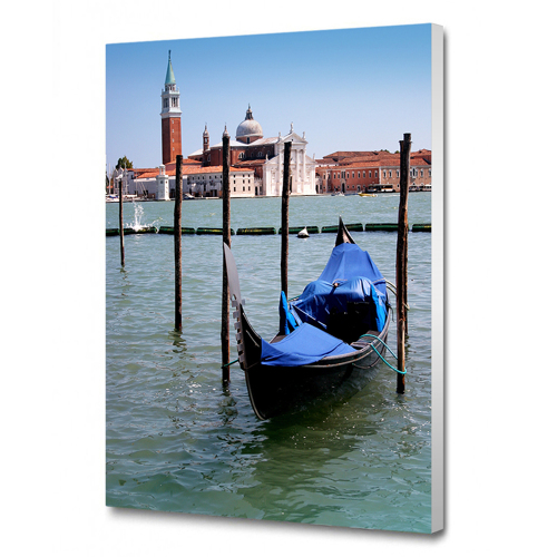 8 x 12 Canvas - 1.75 inch White Wrap