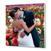16 x 16 Canvas - 0.75 inch White Wrap