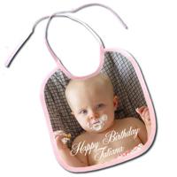 Pink Baby Bib