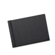 4x6 (Unibind) Black Linen