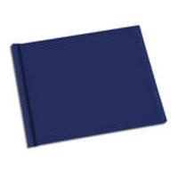 8.5 x 11 Blue Solid Cover Photo Book