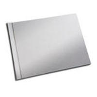 8.5 x 11 (HP) Basic Silver Linen Photo Book