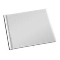 8.5 x 11 White Solid Cover Photo Book