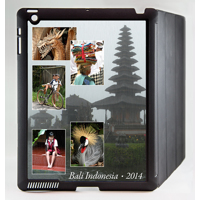 iPad 1-4 Black Freestyle Vertical Magnetic Cover