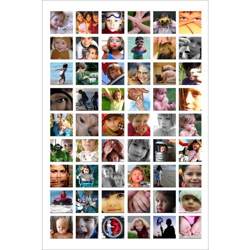 Montage avec 54 photos - 24x36