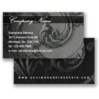 Business Card (Freestyle Layout 6)