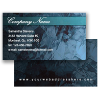 Business Card (Fixed Layout 20)