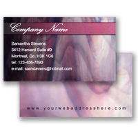 Business Card (Fixed Layout 21)