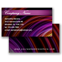 Business Card (Freestyle Layout 24)