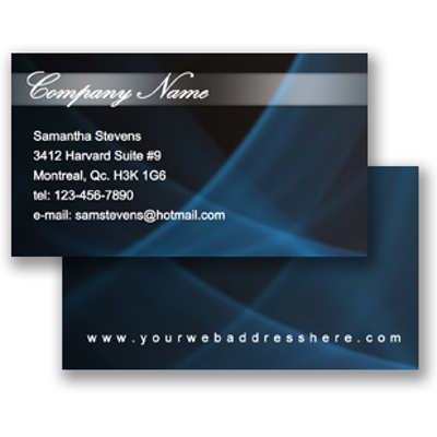 Business Card (Freestyle Layout 25)