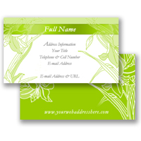 Business Card (Fixed Layout 27)