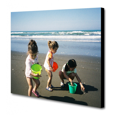 16 x 12 Canvas - 0.75 inch Black Wrap