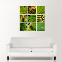Nine Square - Wood Panels 9x 200x200mm