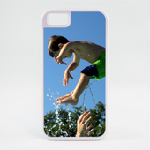 iPhone 5 - White Reflection Case