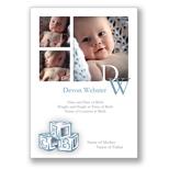 Baby Blocks B - Blue