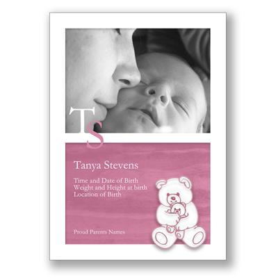 Teddy - Pink