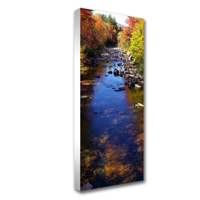 36 x 72 Canvas - 1.5 inch White Wrap