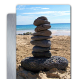 11 x 14 Aluminum Metal Wall Art, Vertical