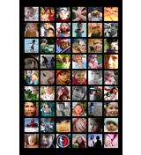 24x36 - 54 Photos Collage