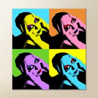 12x12 Canvas Pop Art