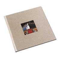 12 x 12  Natural Cloth Window Photo Book