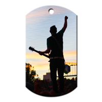 Dog Tag 30mm x 50mm Rectangle big