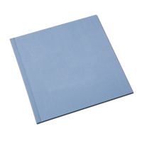 12 x 12  Baby Blue Linen Solid Cover Photo Book