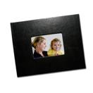 Cuir noir avec fenêtre  8.5 x 11