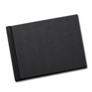 5x7 (Unibind) Black Linen