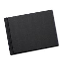 5x7 Black Linen