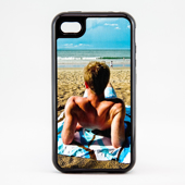 iPhone 4 - Black  Vision  Case