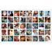 "11"" x 17"" collage 40 photos borderless"