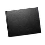 8.5 x 11 Black Leatherette