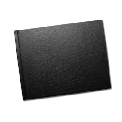 8.5 x 11 Black Leatherette