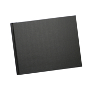 8.5 x 11 (Unibind) Black Linen up to 35 pages