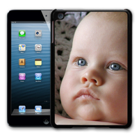 iPad Mini 1-3 Black Silicone Magnetic Single Photo